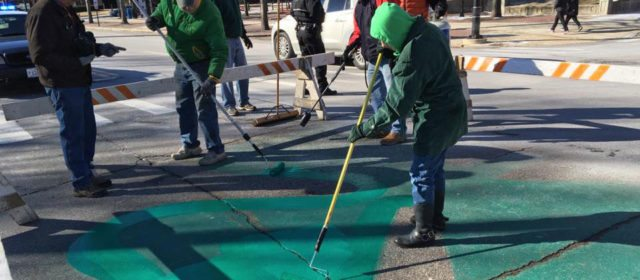 Photos from the 2016 Shamrock Painting on Elm Street